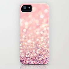 LISA ARGYROPOULOS                                                                                                                                           Blush Sparkly iPhone Case                                                                                                          .:JuSt*!N*cAsE:.