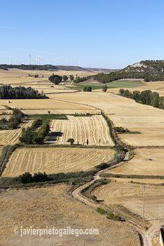 The Hornija valley from the castle of Torrelobatón. Valladolid. Castilla y León. / El valle del Hornija desde el castillo de Torrelobatón. Valladolid. Castilla y León. España © Javier Prieto Gallego