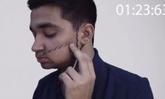The device that turns nose breaths into Morse code