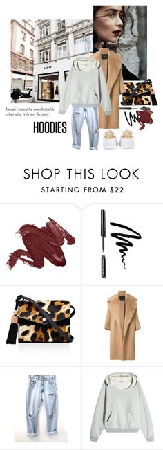 """Comfy"" by pinkdream235 ❤ liked on Polyvore featuring Bobbi Brown Cosmetics, GET LOST, Elizabeth and James, MaxMara, Levi's, Yeezy by Kanye West, adidas Originals and Chanel"