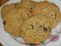 Biscuits, Raisin, Macarons, Muffins, Deserts, Snacks, Cookies, Sweet, Oatmeal