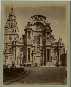 Espagne, Murcie, Facade de la Cathédrale     #Europe #Espagne_Espana