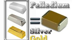 💠Palladium, Silver and Gold recovery from MLCC (Monolithic Ceramic Capacitors)💠 What To Recycle, Scrap Recycling, Scrap Gold, Gold Prospecting, Metal Working Tools, Electronic Items, Electronic Devices, Gold Diy, Iron Work