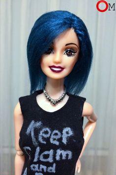 #перепрошивка #барби #кукла #barbie #doll #волосы