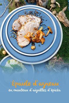 Des herbes aux arômes intenses telles que le romarin, le thym et la sauge s'accordent parfaitement à la viande d'agneau, c'est bien connu. Des aiguilles d'épicéa locales sont une alternative intéressante. À récolter lors de ta prochaine promenade en forêt. Bolet, Valeur Nutritive, Hummus, Curry, Plates, Chicken, Tableware, Ethnic Recipes, Alternative