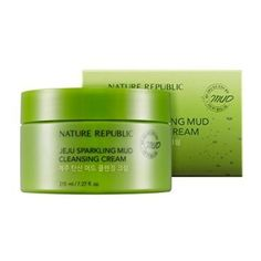 Nature Republic  Jeju Sparkling Mud Cleansing Cream  Cleansers  Exfoliators  Exfoliating  Cleansing Masks -- Want to know more, click on the image.