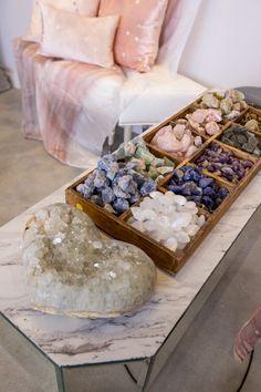 Enchiladas Discover Stargazer in Rose Quartz Sugar Scrub Diy, Diy Scrub, Crystal Healing Stones, Crystal Magic, Crystals And Gemstones, Stones And Crystals, Crystals For Home, Crystal Aesthetic, Spiritual Decor