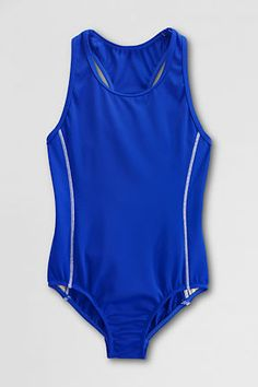 Girls' Y-back One Piece Swimsuit from Lands' End