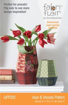 Fabriflair™ Vase & Vessels Fabriflair Digital PDF Pattern   YouCanMakeThis.com