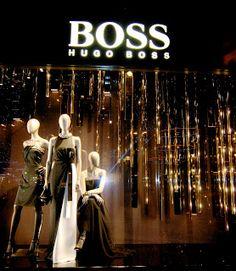 Hugo Boss - Dec. 2012 - Paris via MesVitrinesNYC
