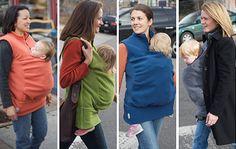 babywearing sweater idea