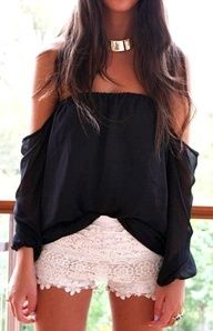 Chic summer outfit.