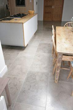 'Pinatubo Grey' Natural Limestone Floor - contemporary - Spaces - East Midlands - Stones of Croatia