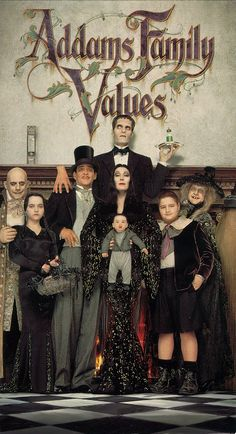 The Addams Family Values - one of the few times when the sequel surpasses the original.  Not an award-winning classic by any means, but a fun movie with a unique sense of humor.