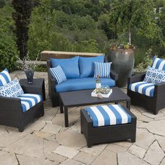 Found it at Wayfair - Northridge 6 Piece Deep Seating Group with Cushions