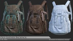 It's been a long time since my last post in Artstation, finally I can come back to modelling. Here some model (Accessories) that I've made for my Character. Since I haven't fully finish texturing my character, I'll show you some accessories that she wear.  Modelled in Maya and Zbrush Textured in Zbrush and Photoshop Rendered in Marmoset