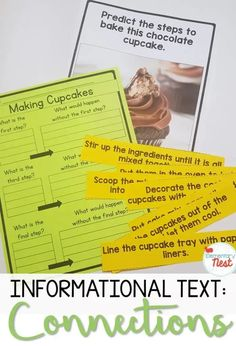 Making Connections in a Nonfiction Text. This Exploring ELA post is about making connections in a nonfiction text. In this blog post I talk about buzz words and share my 5 Key Tasks for Teachers when it comes to teaching making connections. Learn more about how you can create you making connections in a nonfiction text lesson plans here. Fluency Activities, Grammar Activities, Reading Activities, Text To Text Connections, Making Connections, Apple Life Cycle, Text To Self, Nonfiction Text Features, 2nd Grade Reading