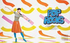 pop rocks1 Chloe B. Wears Pop Art Style for Foam Shoot by JUCO