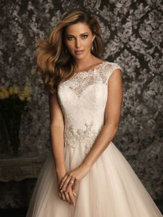 Bridal beauty from Allure Bridals