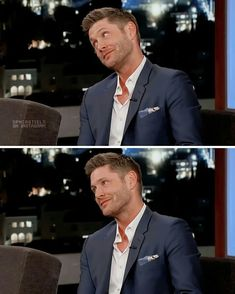 Jensen on Jimmy Kimmel Live, 2018