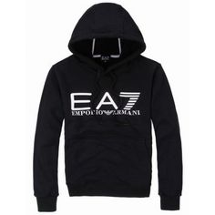 1cb26407399 Emporio Armani EA7 Mens Hooded Sweater Hooded Sweater