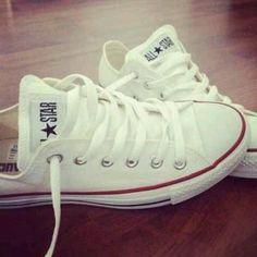 Don't forget white chucks #sneakeraddiction