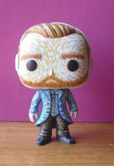 Vincent van Gogh Custom Funko Pop Vinyl Figure by boopstoof on etsy