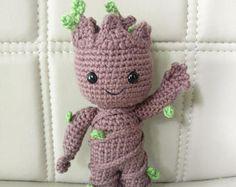 PATTERN - Baby Groot (vol2) - Amigurumi Crochet Pattern