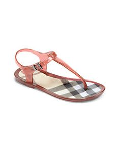 Burberry - Kid's Jelly Sandals
