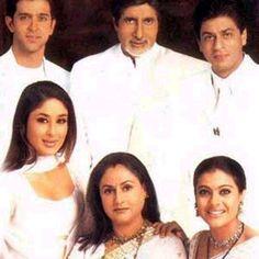 Bild av Kabhi Khushi Kabhie Gham Very nice movie. Srk Movies, Good Movies, Bollywood Celebrities, Bollywood Actress, Shahrukh Khan And Kajol, Karan Johar, Pakistani Dramas, Amitabh Bachchan, Akshay Kumar
