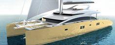 New Super Yacht Model Sunreef 82 Double Deck...So SEXY