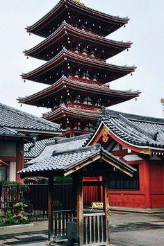 Japão - Pagoda de Asakusa