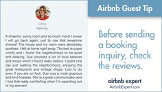 Previous guest experiences are a reliable indicator of if you and your Airbnb host will be good match.  #Airbnb #LifesBetterWithAirbnb #AirbnbExpert