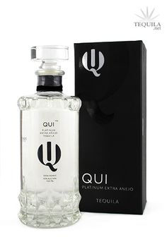 Qui Tequila Platinum Extra Anejo. Never had this one. Sounds interesting.