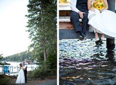 Lake Tahoe Wedding Reception by Scott Corridan Design Gar wood Grill