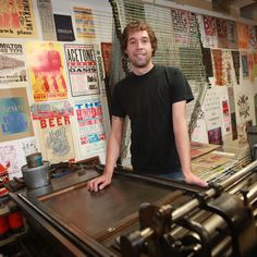 "From master printer to journeyman: WNY Book Arts Center's Chris Fritton hits the road  On Friday, he resigned his position as studio director there and set his sights on an ambitious new project. He has branded himself ""The Itinerant Printer"" and will set out next year on a 30,000-mile journey to visit and work in dozens of print shops small and large across North America, many of which have recently sprung up as the hands-on printing movement has gained momentum."