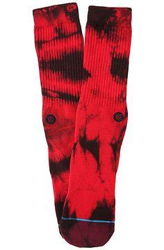 The Burnout Socks in Wine by Stance Socks