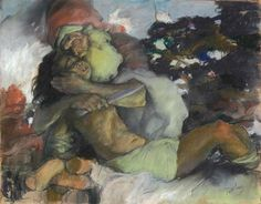 Abel Pann-The sacrifice of Isaac