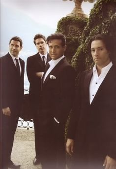 Il Divo - Opera Singers.  Saw them in concert with Barbra Streisand...beautiful!