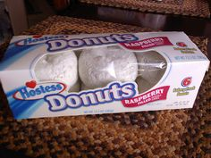 Raspberry filled Hostess Donuts.  Miss these SO much!