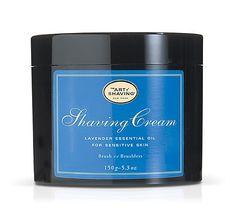The art of shaving cream...  Best shaving cream EVER!