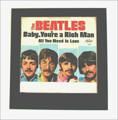 Beatles - Rarity  Authentic 1967 Beatle release that is very hard to find and will only become more so in the future. This piece is over 40 years old and has a few imperfections as most things over 40 do. However; this shows well, this is a genuine collectible of Rock history, an object of Album Cover Art that will keep its value and mystique as time continues to make original Beatle cover art harder to find.