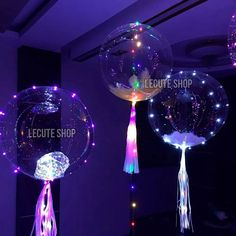 globos transparentes luz led 40 cm fiesta decoracion neon Neon Birthday, 18th Birthday Party, Balloon Lights, Diy Galaxy, Glow Party, Ideas Para Fiestas, Wedding Balloons, Fancy Party, Party Time