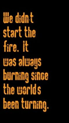 Billy Joel - We Didn't Start The Fire - song lyrics, songs, music lyrics, song quotes, music quotes