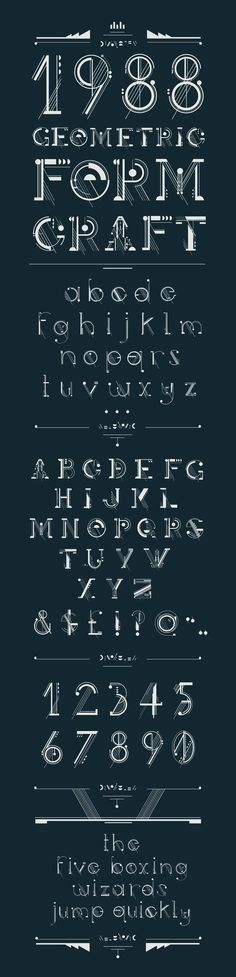 Artificer Typeface by Petros Afshar