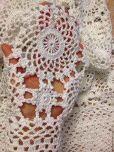Платья ручной работы. Вязаное платье. Julia Chervon. Ярмарка Мастеров. Вязаное платье крючком, белое платье, платье