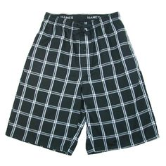 Whether you're watching tv, sleeping, jogging, working outside, etc. these shorts are perfect for every occasion The longer inseam is a great length for comfort.  The fly boasts a single button and there are two convenient on seam pockets.  The elastic waistband is covered for comfort and features a drawstring to ensure the perfect fit.