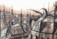 Sigil, The City of Doors cityscape