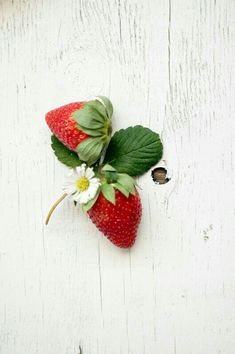 Strawberries...