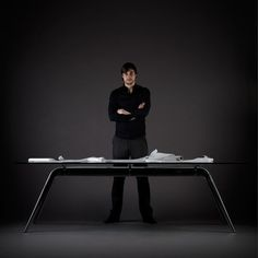 T-No. 1 Table Black  by Todd Bracher